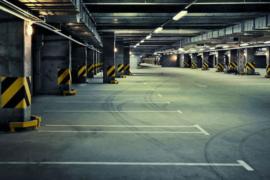 Подземный паркинг в новострое