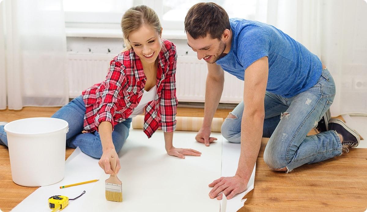 Что выбрать для отделки стен – обои или краска