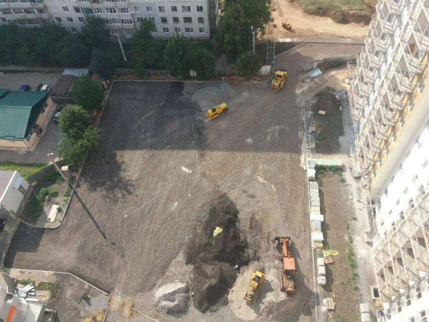 Стадия строительства ЖК «Черемушки 2»