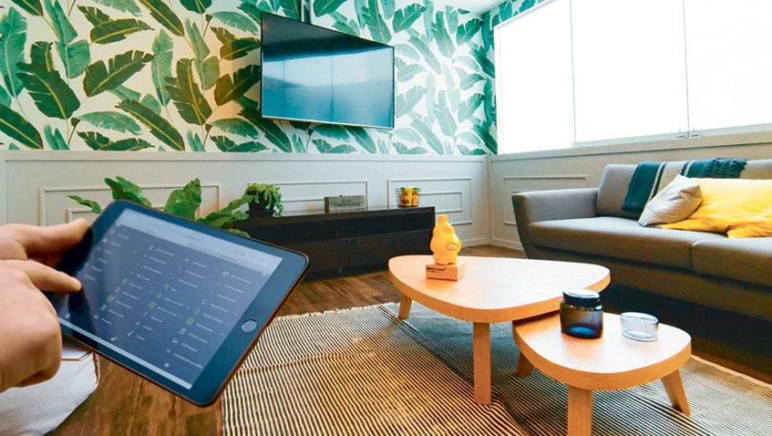применение системы умный дом в квартире