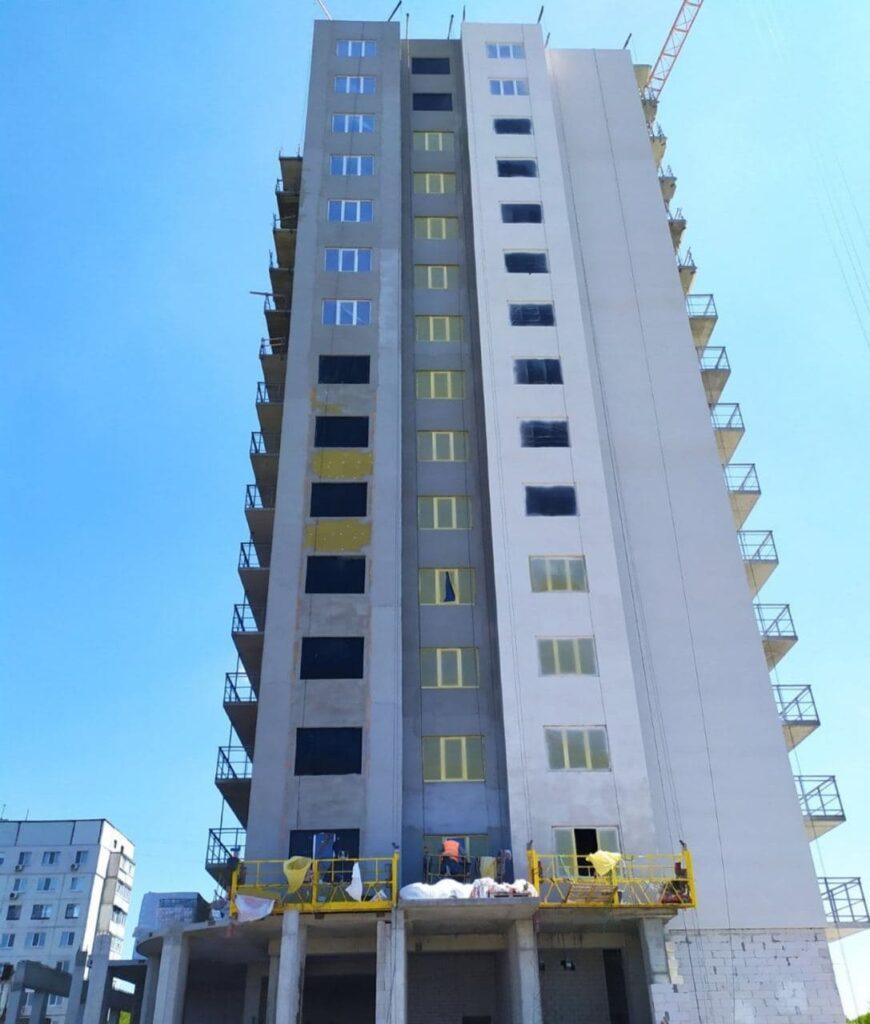 Результаты строительства ЖК «Слобожанский квартал» за апрель